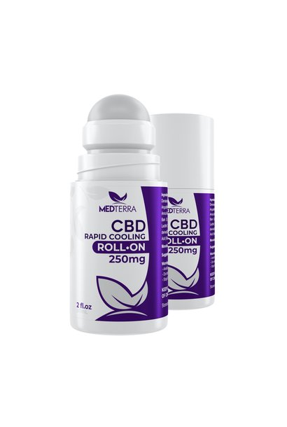 CBD Rapid Cooling Roll On, 2oz