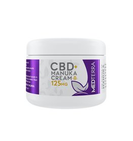 MedTerra CBD Manuka Honey Healing Cream 125mg, 1oz