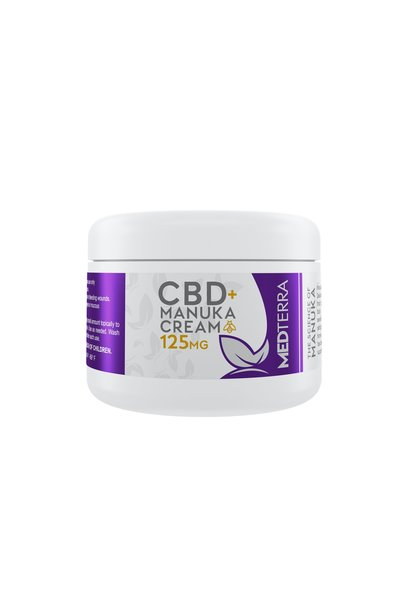 CBD Manuka Honey Healing Cream 125mg, 1oz