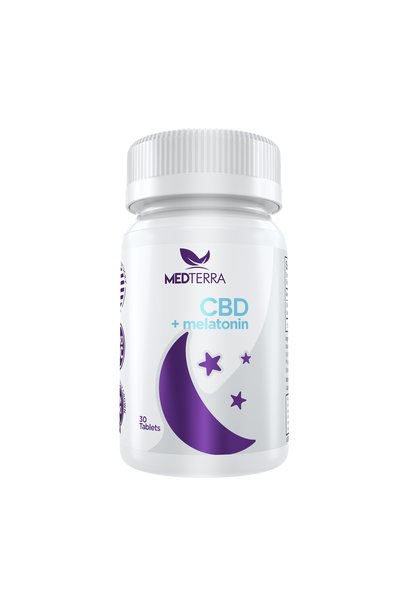 CBD Melatonin Sleep Tablets
