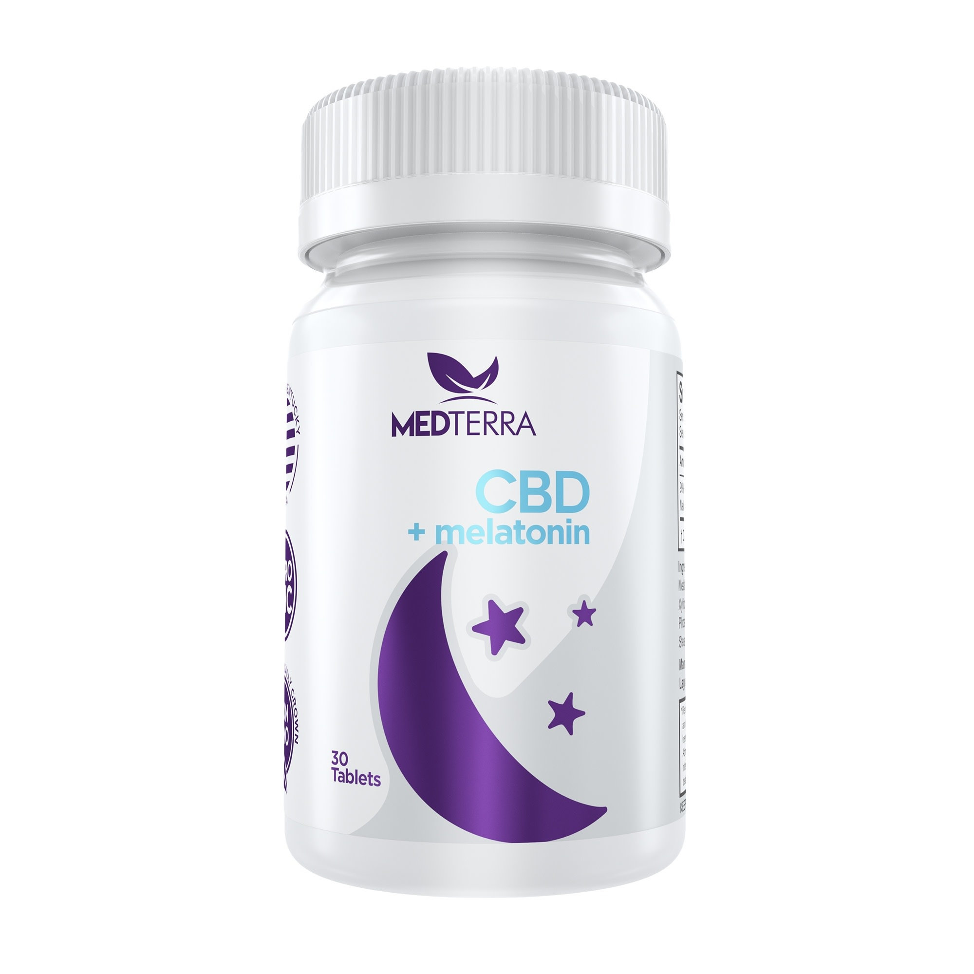 MedTerra CBD Melatonin Sleep Tablets