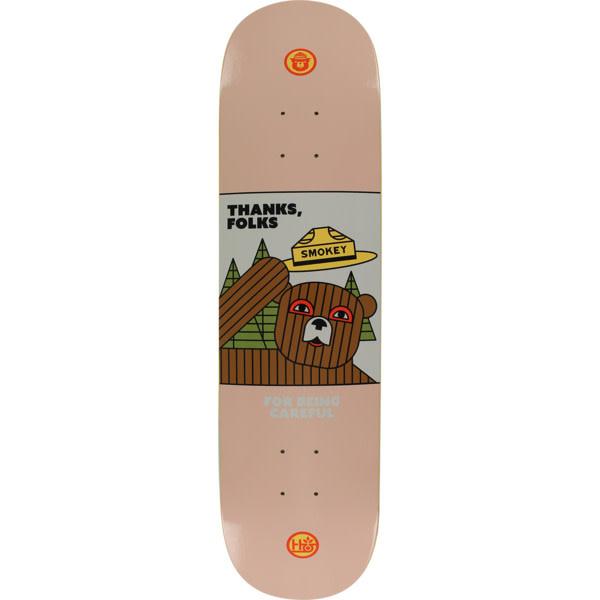 "Eastern Skate Supply Habitat Skateboards Smokey Thanks Folks Skateboard Deck - 8"" x 31.625"""