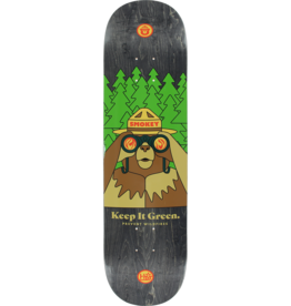 "Eastern Skate Supply Habitat Skateboards Smokey Bearnoculars Skateboard Deck - 8.12"" x 31.75"""