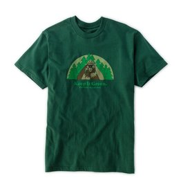 Eastern Skate Supply Habitat Skateboards Smokey Bearnoculars Forest Green Men's Short Sleeve T-Shirt