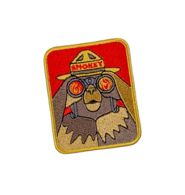 Eastern Skate Supply Smokey Bearnoculars Patch