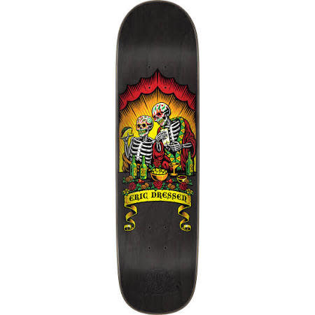 "Eastern Skate Supply Santa Cruz Skateboards Eric Dressen Dine With Me Skateboard Deck - 8.59"" x 32.17"""