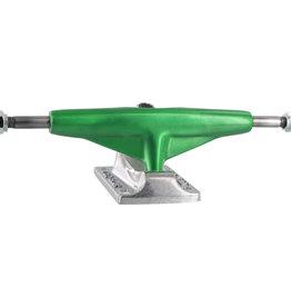 "Eastern Skate Supply Tensor Trucks Aluminum Low Green Mirror / Polished Skateboard Trucks - 5.25"" Hanger 8.0"" Axle (Set of 2)"