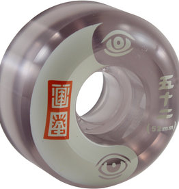 Eastern Skate Supply Element Skateboards Timber Black / Clear Skateboard Wheels - 52mm 99a (Set of 4)