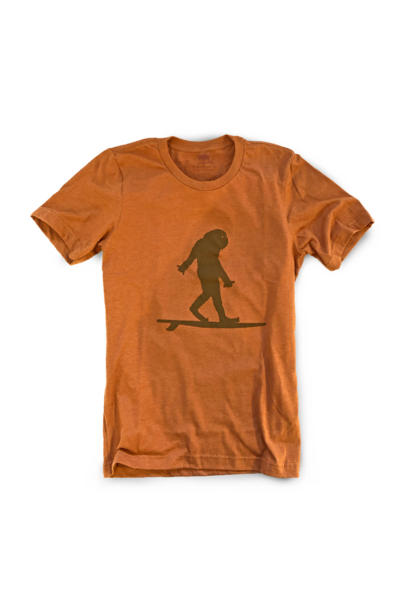 Surfing Sasquatch Unisex T-Shirt