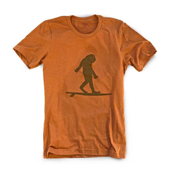 Surfing Sasquatch Unisex T-Shirt-1