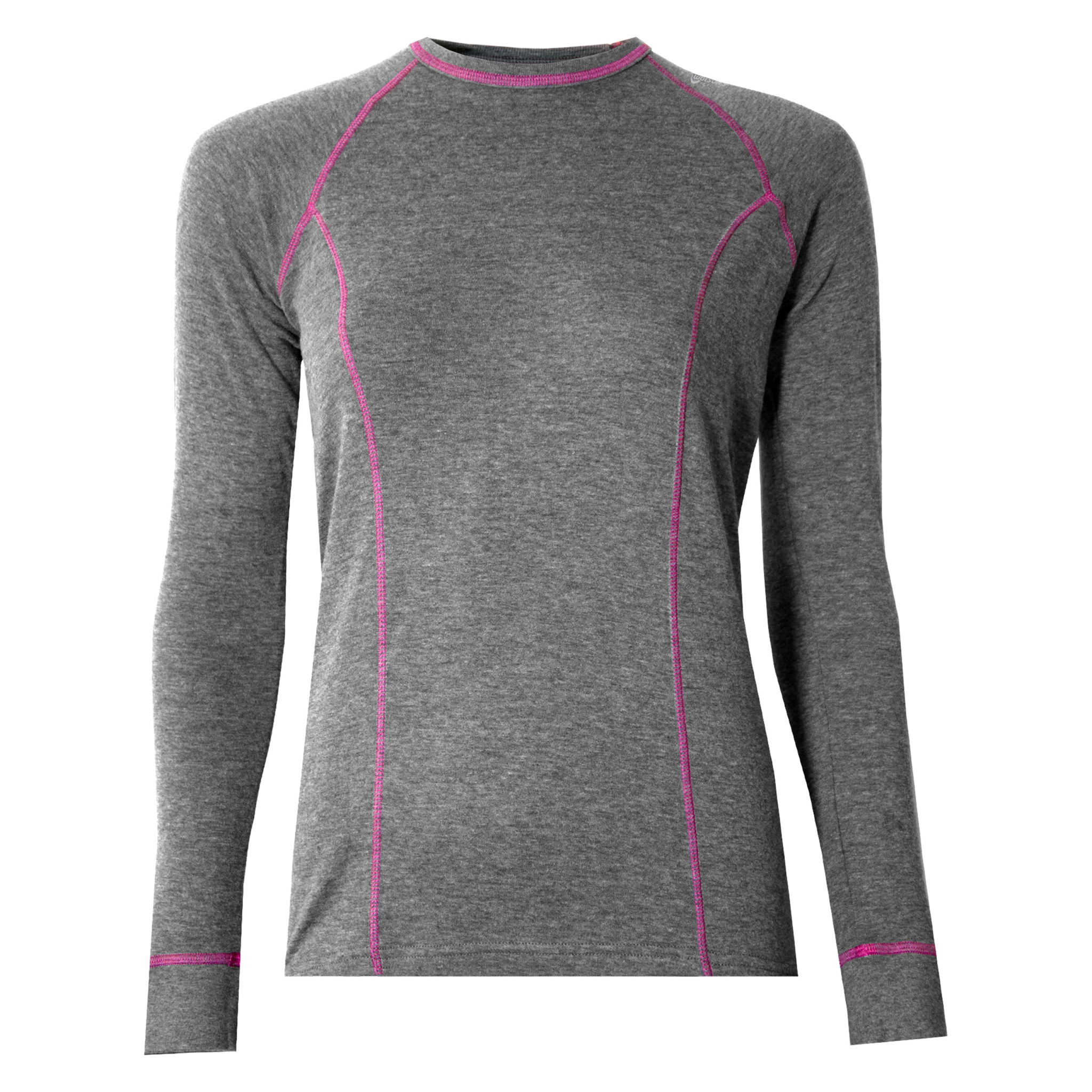 Watson's W's Double Layer L/S Base Layer, Grey