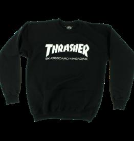 Eastern Skate Supply Thrasher Skate Mag Crew, Black