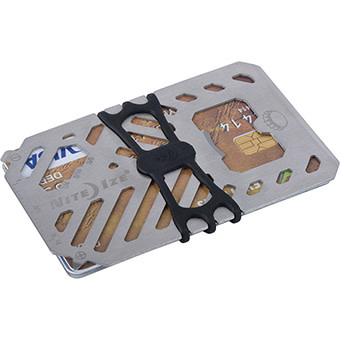 Liberty Mountain Nite Ize Financial Tool Wallet, Stainless Steel