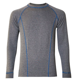 Watson's M's Double Layer L/S Base Layer, Grey