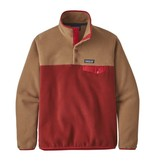 Patagonia W's LW Synch Snap-T P/O, Molten Lava