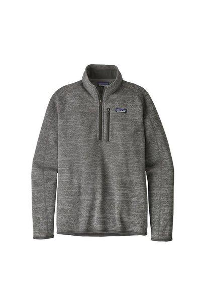 M's Better Sweater 1/4 Zip, Nickel