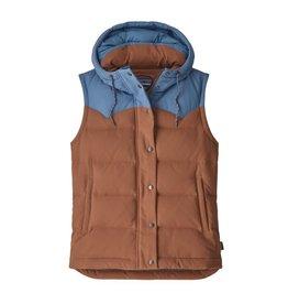 Patagonia W's Bivy Hooded Vest, Sisu Brown