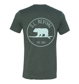 S.L. Revival Co. S.L. Revival Surfing Bear, Heather Forest