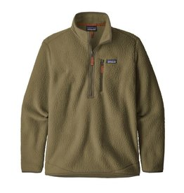 Patagonia Men's Retro Pile Fleece Pullover, Sage Khaki