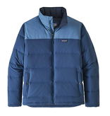 Patagonia M's Bivy Down Jacket, Stone Blue w/ Woolly Blue