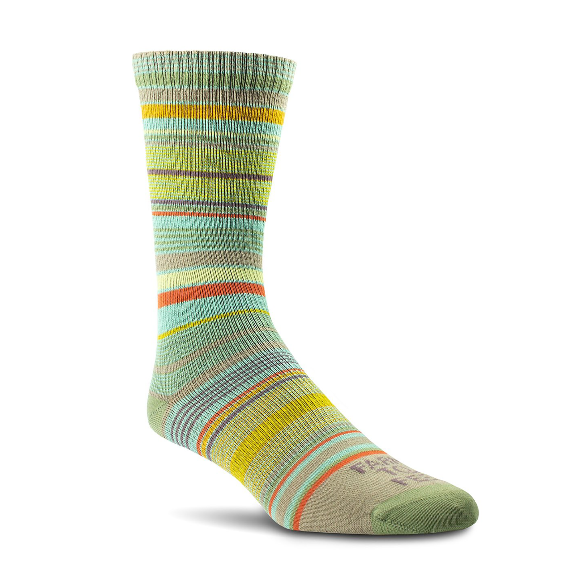Farm to Feet Ithaca Utralight Sock Medium, Mosstone M
