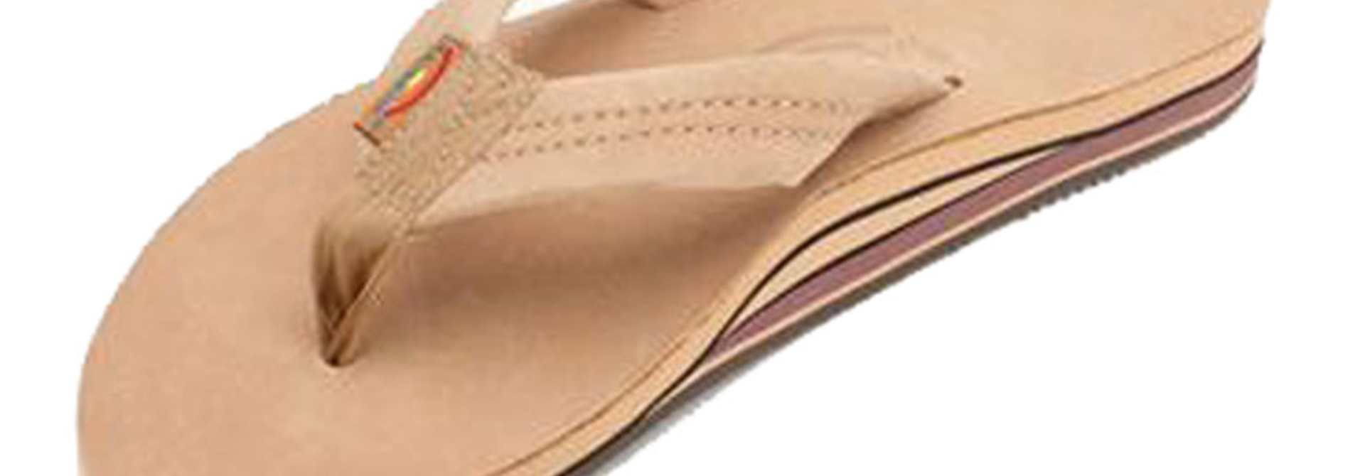 Men's Sierra Brown Premier Leather Double Layer, Thick Strap