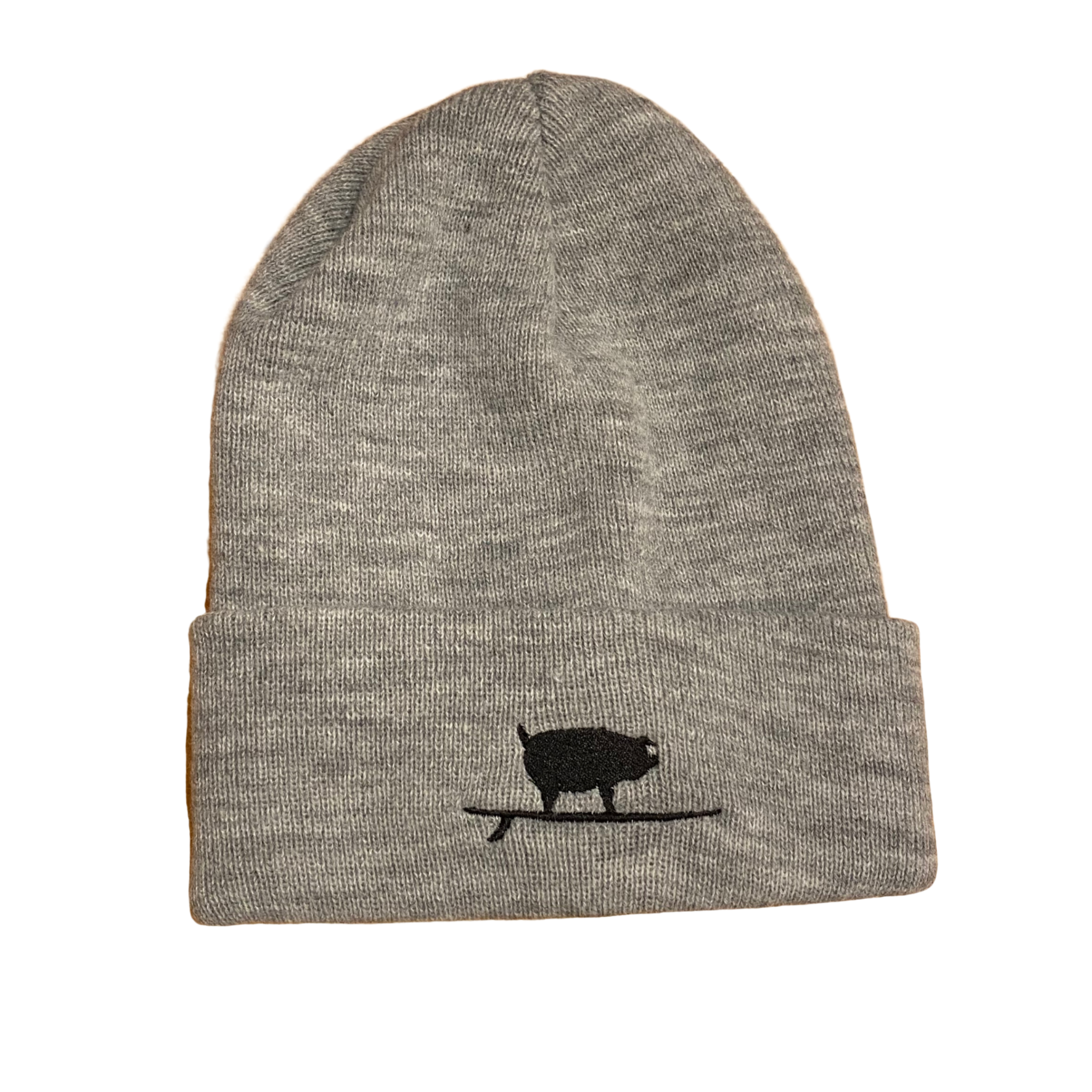 S.L. Revival Co. Surfing Pig Beanie, Heather
