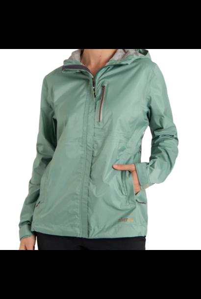 W's Kunde Waterproof 2.5-Layer Jacket, Mechi Green