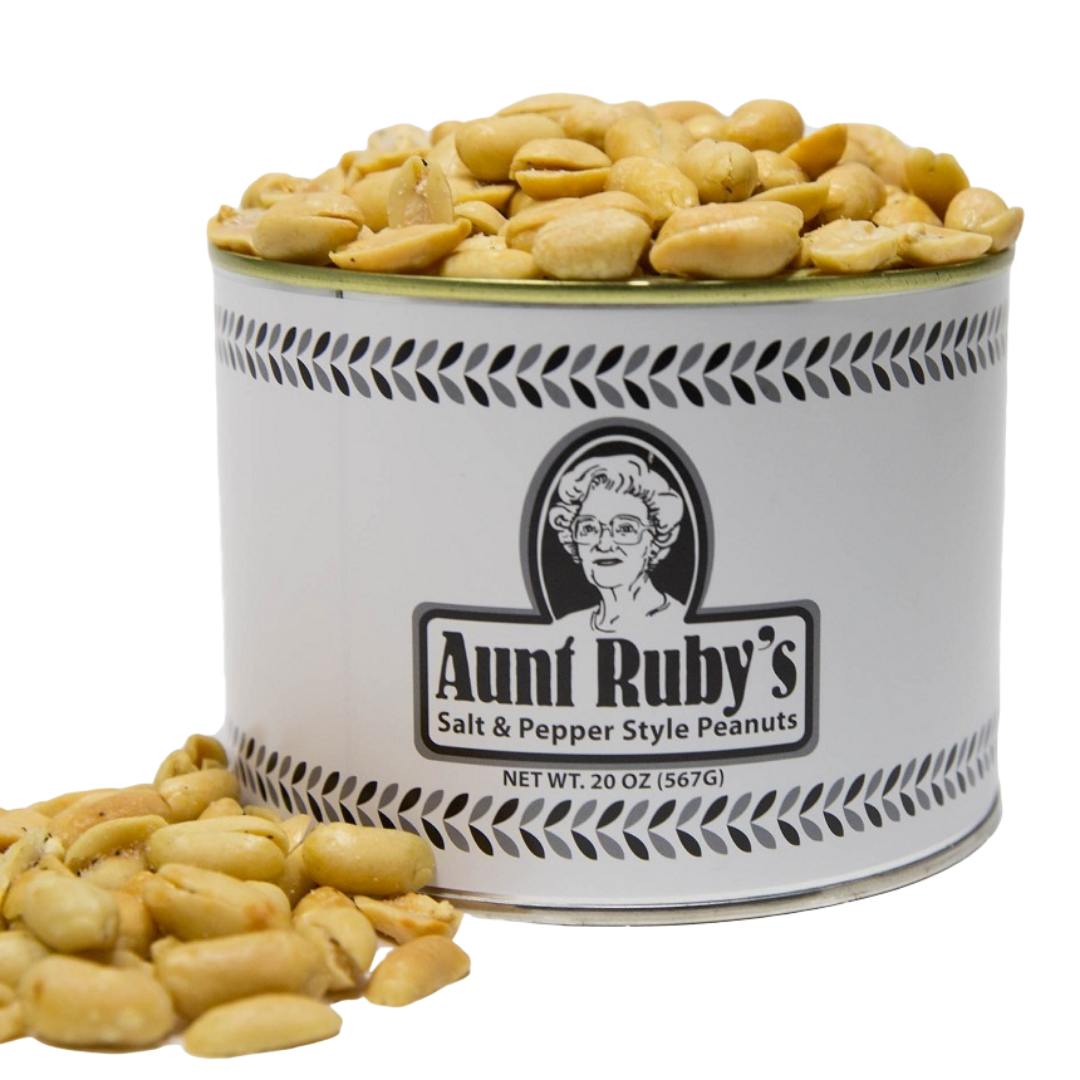 Aunt Ruby's Salt & Pepper Peanuts