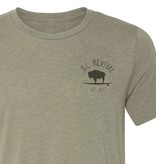 S.L. Revival Co. Social Distancing Sasquatch T-Shirt, S/S, Heather Olive