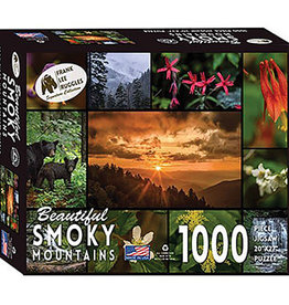 Beautiful Smoky Mountains Puzzle, 1000 Pieces