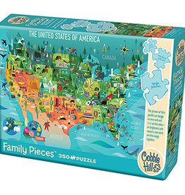 The United States of America Puzzle, 350 Pieces