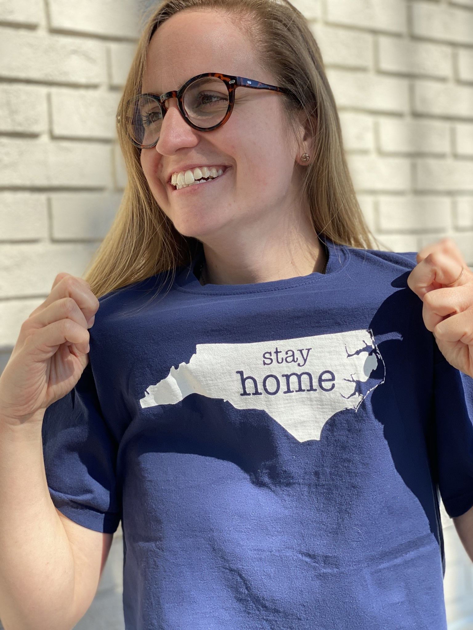 S.L. Revival Co. Stay Home Tee, S/S, Navy