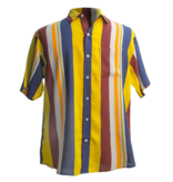 Men's 1961 Fun Stripes Perfect Father's Day Shirt, Bright Stripes