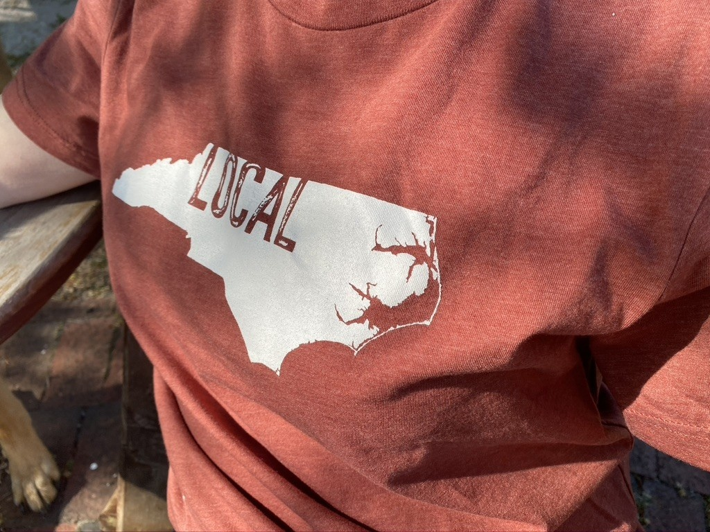 S.L. Revival Co. SLR North Carolina Modern Local Tee