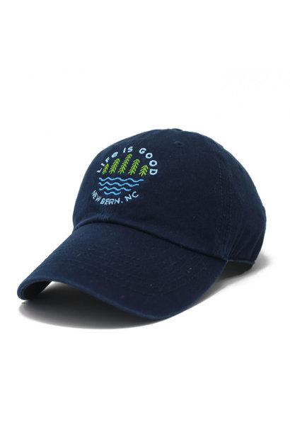 New Bern / LIG Lake Pines Chill Cap, Darkest Blue