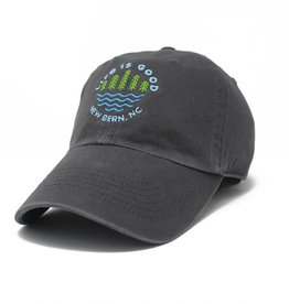 Life is Good New Bern / LIG Lake Pines Chill Cap, Slate Gray