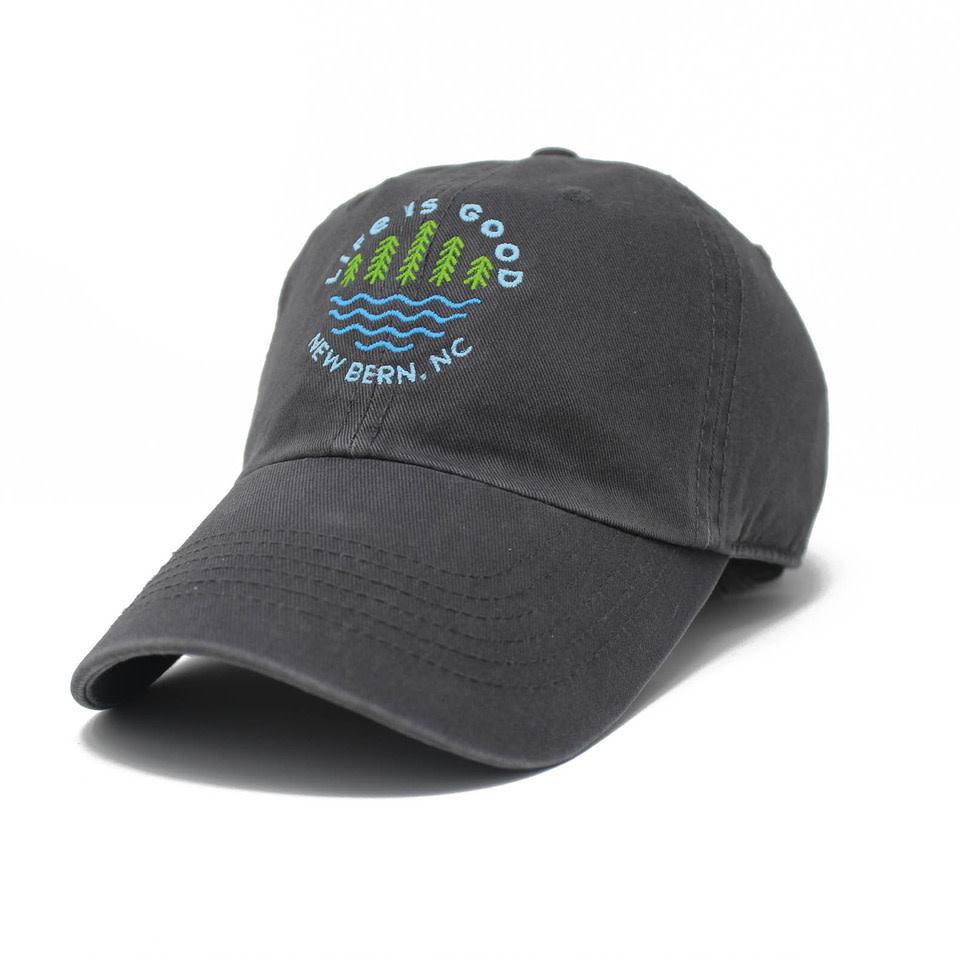 New Bern / LIG Lake Pines Chill Cap, Slate Gray-1