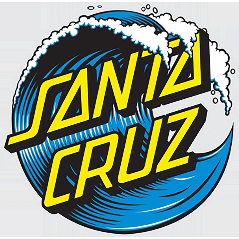 """Santa Cruz Santa Cruz Wave Dot Decal, 3"""""""