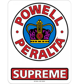 Powell Peralta Supreme Og Decal, 3.5""