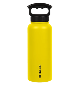FIFTY/FIFTY 34OZ. VACCUM INSULATED BOTTLE, YELLOW