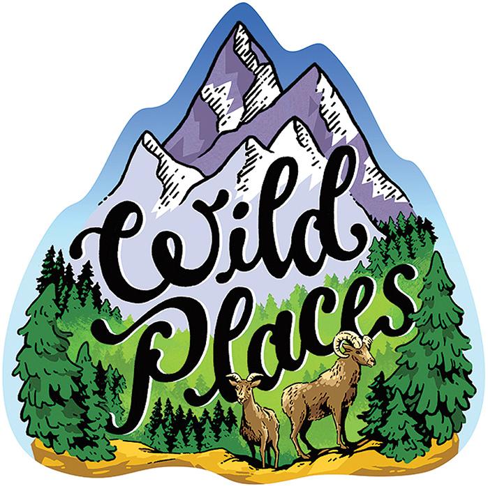 Wild Places Sticker-1