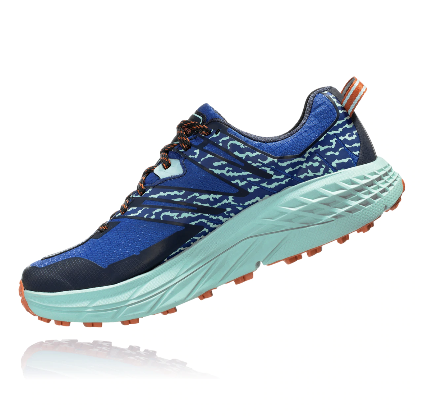 Hoka One One W's Speedgoat 3 Waterproof, Soadlite Blue/Lichen
