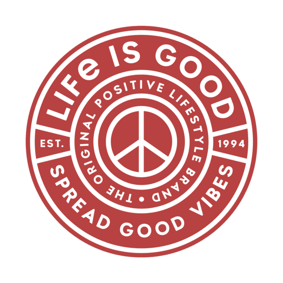 Life is Good Magnet Spread Good Vibes, Red