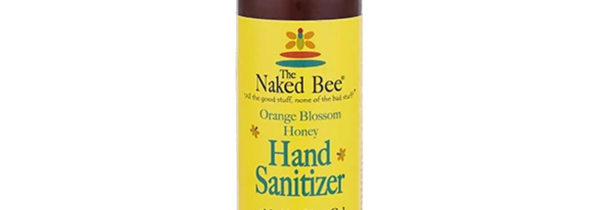 Orange Blossom Honey Hand Sanitizer Pump Bottle, 8 oz.