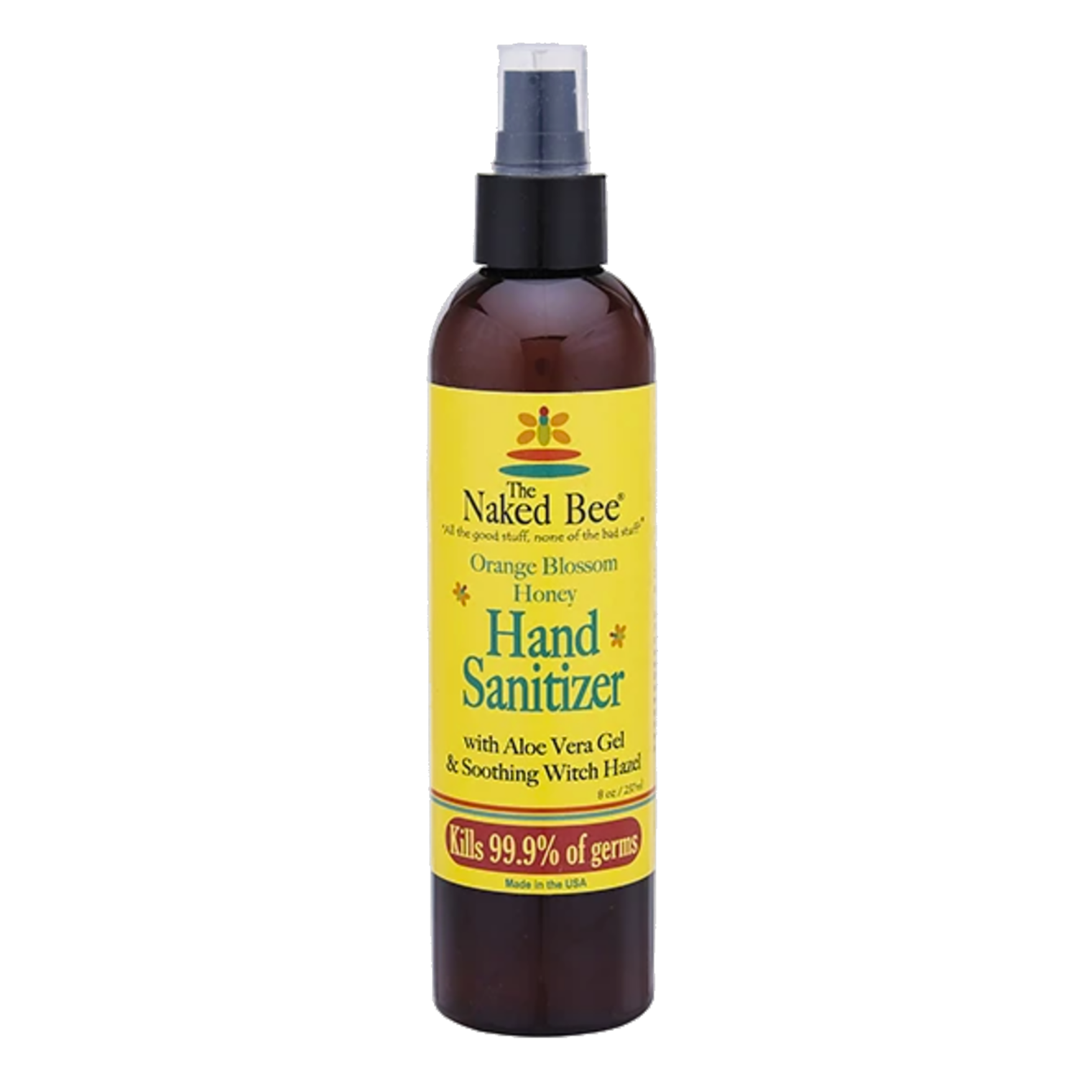 Orange Blossom Honey Hand Sanitizer Pump Bottle, 8 oz.-1