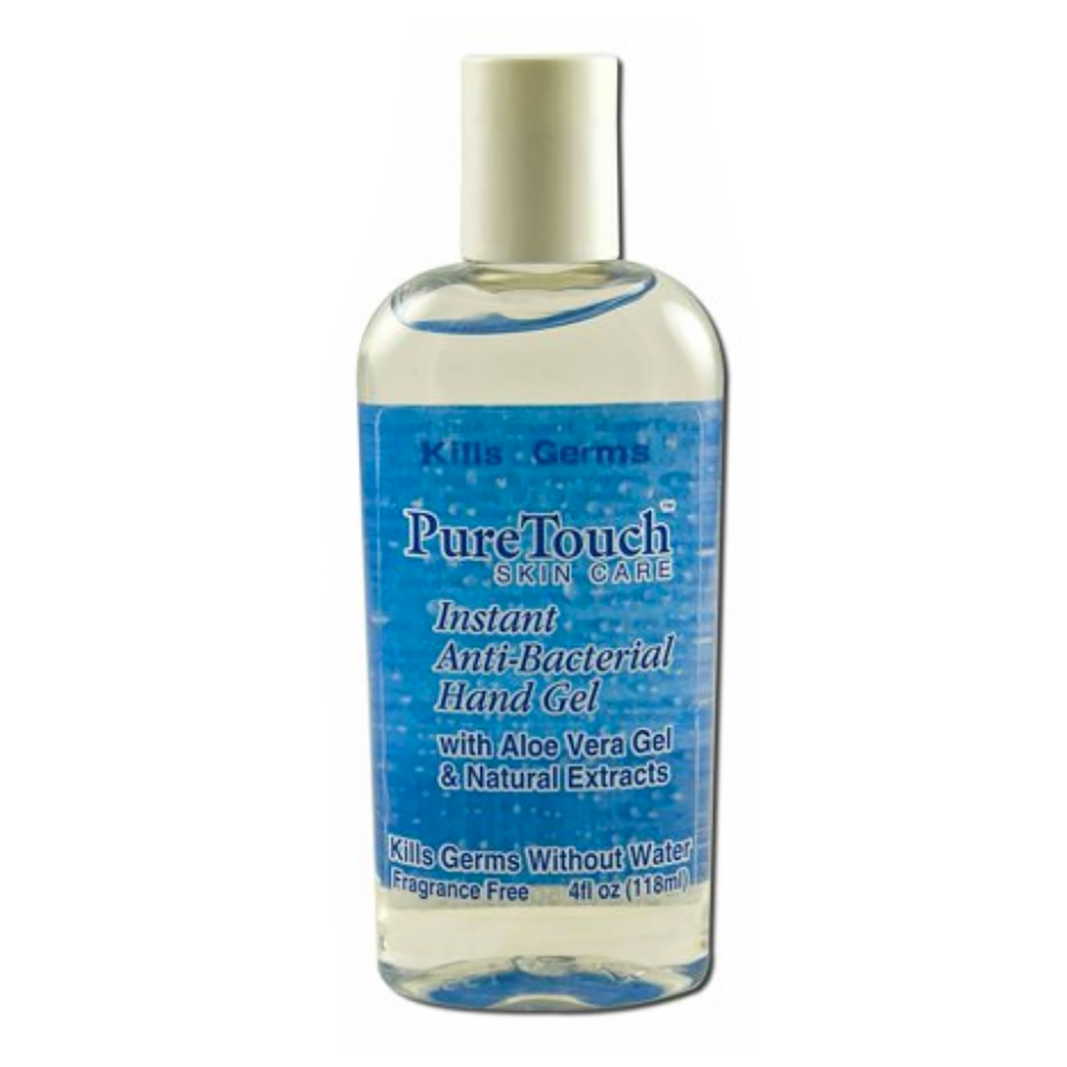 PURE TOUCH Anti-Bacterial Gel, 4oz