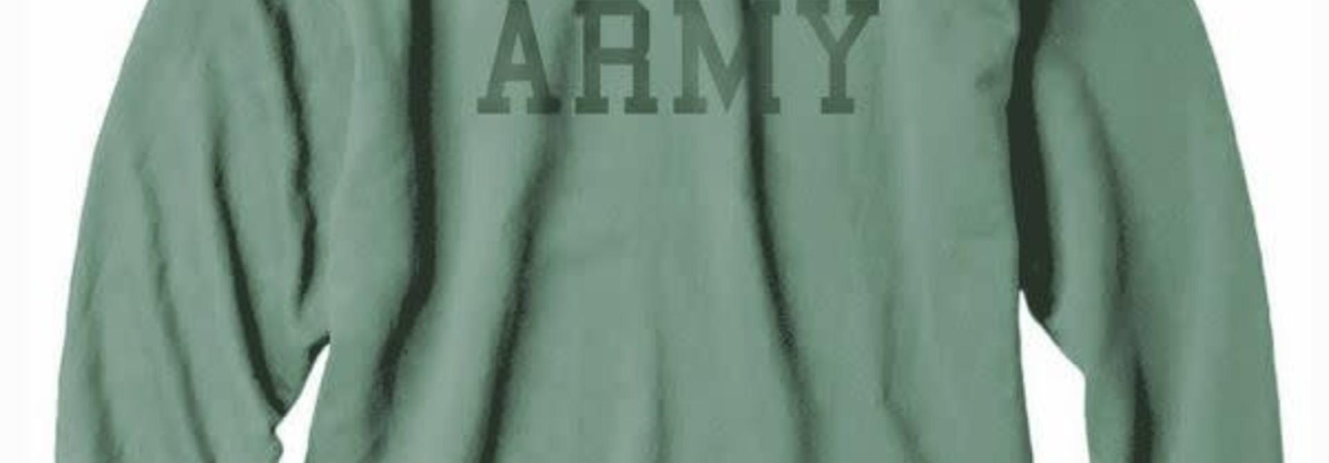 Army Collegiate Sweatshirt, Green