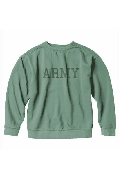 Army Collegiate Sweatshirt, Green