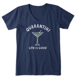 Life is Good W Crusher Vee Quarantini, Darkest Blue
